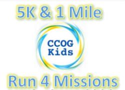 CCOG Run 4 Missions 5K & 1 Mile