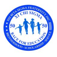 Phi Beta Sigma Fraternity, Inc. (Xi Chi Sigma Chapter) - 5K Fun Run, Walk, and Ride