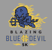 Blazing Blue Devil 5K