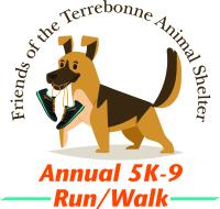 Friends of the Terrebonne Animal Shelters 6th Annual 5K-9 Run/Walk