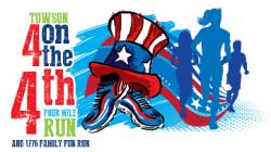 Towson 4 on 4th Four Mile Run and 1776 Family/Kid's Fun Run