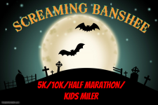 Screaming Banshee 5k /10k /Half Marathon /Kids Race