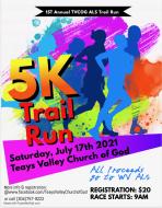 5K ALS Trail Run