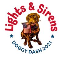 2021 Lights & Sirens Doggy Dash - 5k & 1K