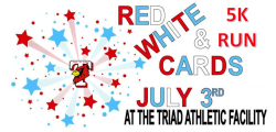 Red White & Cards 5k Run