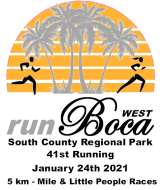 runBOCA COVID Edition ( At South County Regional Park - West Boca )