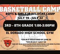 Boys & Girls Coach Culbertson Junior Wildcat Camp