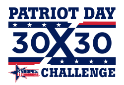 2021 Patriot Day 30 x 30 Challenge