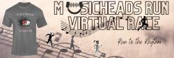 Musicheads Run Virtual Race