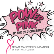 POWer in Pink - 5K In Person and 26.2 Virtual Month-Long Marathon Challenge!