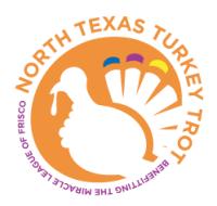 North Texas Turkey Trot Logo