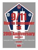 9/11 Run to Remember 5K