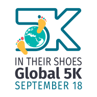 """2021 GLOBAL """"IN THEIR SHOES 5K"""" Benefitting Iraqi Orphans & Vulnerable Children"""