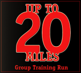 Playmakers Up to 20 Mile Training Run