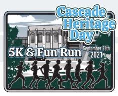 Cascade Heritage Day 5K, Fun Run, & Cornhole