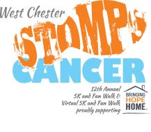 12th Annual West Chester STOMPS Cancer 5k & Fun Walk and Virtual 5K & Fun Walk