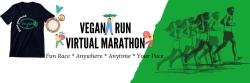 Vegan Run Virtual  Marathon