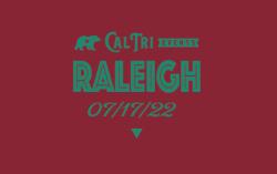 2022 Cal Tri Raleigh - 7.17.22