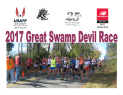 Great Swamp Devil Race 5K and 15K