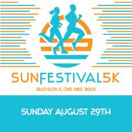 12TH SUN FESTIVAL 5K, BIATHLON & 1M WALK