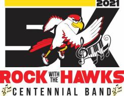 Rock with the Hawks Band Fun Run 5k & 1 mile walk/run