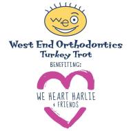 "West End Orthodontics 5K Turkey Trot Benefitting ""We Heart Harlie & Friends"""