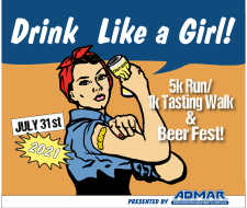 Drink Like a Girl Virtual 5k 2021