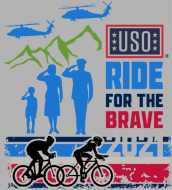 Ride for the Brave Cycling Challenge  Presented by USO