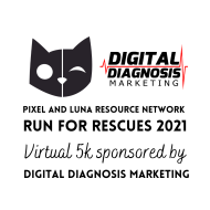 Run for Rescues 2021, Sponsored by Digital Diagnosis Marketing