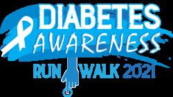 Diabetes Awareness - Virtual 1k, 5k, 10k, Half Marathon Run/Walk