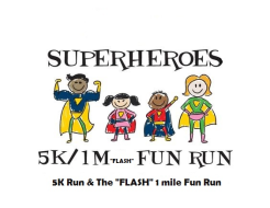 "Symphony of Trees Superheroes 5k and The ""Flash"" 1 mile Fun run (Formerly The Reindeer Run)"