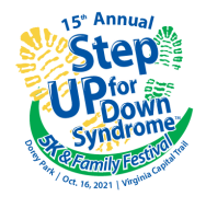 15th Annual Step Up for Down Syndrome 5 K and Family Festival