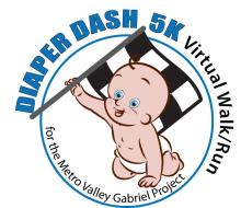 Diaper Dash Virtual 5K 2021