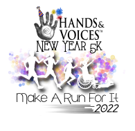 Hands & Voices New Year Virtual 5K: Make a Run for It
