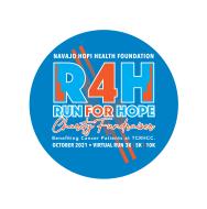 Navajo Hopi Health Foundation RUN for HOPE Virtual 3K, 5K, and 10K