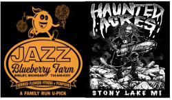 CANCELLED Jazz Blueberry Farm Haunted Trail Run