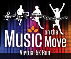 Music on the Move Virtual 5K Run