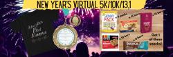 New Year's Run Virtual 5K/10K/13.1 NORTH CAROLINA