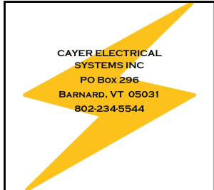 Cayer Electric