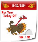 Run Your Turkey off 10k/5k race