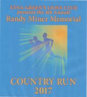 Randy Miner Memorial Country Run