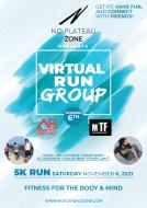 No Plateau Zone 5K Walk/Run - 11/06/2021