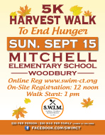 Harvest Walk To End Hunger 2019