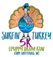 8th Annual Surfin' Turkey 5K and Puppy Drum Run