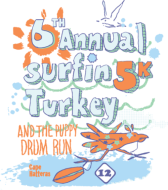 6th Annual Surfin' Turkey 5K and Puppy Drum Run