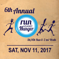 Run Against Hunger 5K/10K Run & 2mi walk