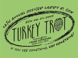 Officer Larry Cox Turkey Trot