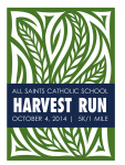 All Saints Harvest 5K & Fun Run
