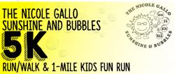 Nicole Gallo Sunshine and Bubbles 5K