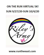 On the Run with Riley's Army (Virtual)